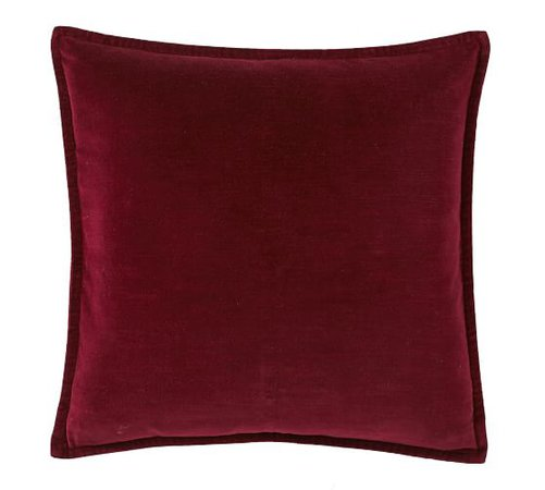 Washed Velvet Pillow Covers | Pottery Barn