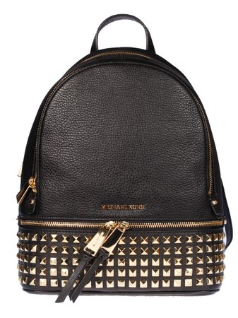 Michael Kors Rhea Medium Zipped Studded Backpack