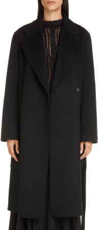 Carice Double Breasted Wool Coat