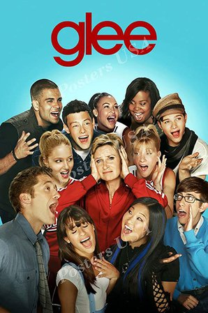 """Amazon.com: PremiumPrints - Glee TV Series Show Poster Glossy Finish Made in USA - TVS214 (24"""" x 36"""" (61cm x 91.5cm)): Posters & Prints"""