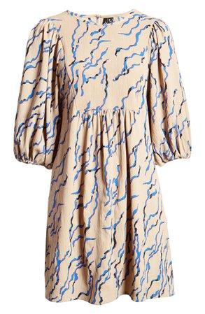 VERO MODA Rica Puff Sleeve Minidress | Nordstrom