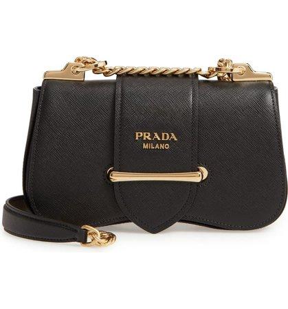 Prada Sidonie Leather Shoulder Bag | Nordstrom