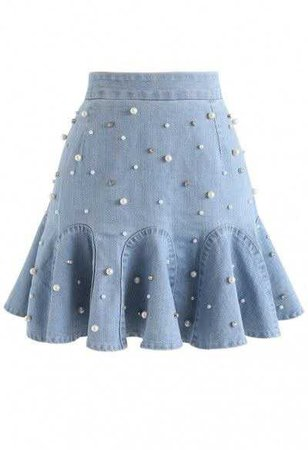 Pearl Faux Skirt