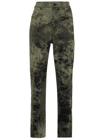 Eckhaus Latta tie-dye straight-leg jeans - FARFETCH