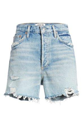 AGOLDE Dee Ultra High Waist Cutoff Denim Shorts (Ricochet) | Nordstrom