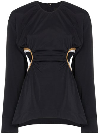 Markoo Cut out-detail Top - Farfetch