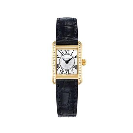 Frederique Constant, Classics Carree Watch Gold and Diamond 23mm Quartz