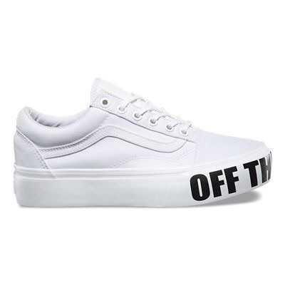 Off the Wall Old Skool Platform Shoes | Vans