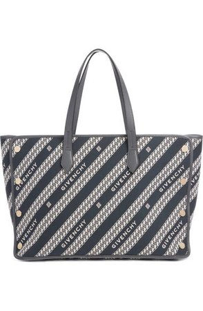 Givenchy Medium Bond Chain Canvas Tote | Nordstrom