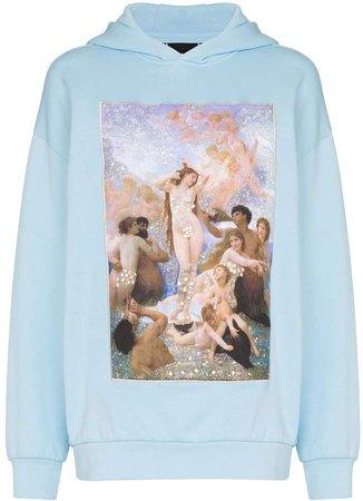 Browns X Sara Shakeel crystal Holy Birth print hoodie