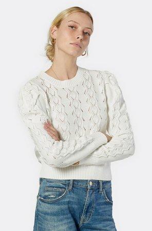 Sigourney Cotton Crew Neck Sweater
