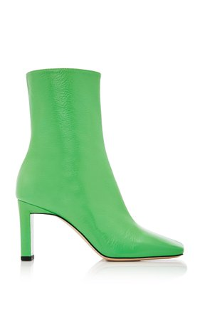 Wandler Isa Goat Leather Ankle Boots Size: 37.5