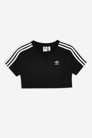 Cropped T-Shirt by adidas | Topshop