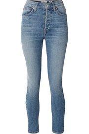 rag & bone | Jane Super high-rise skinny jeans | NET-A-PORTER.COM