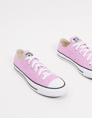 Converse Chuck Taylor Ox Pink Sneakers | ASOS