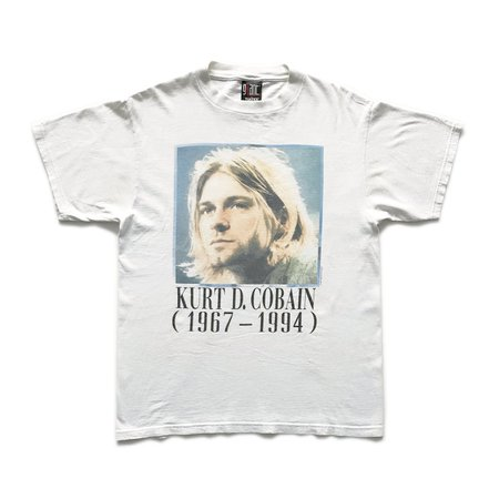 1995 Kurt Cobain 'Tribute' – Teejerker