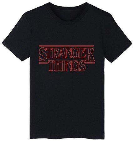 SERAPHY Unisexe Stranger Things T-Shirt été Tshirt pour Hommes et Femmes Hip Hop t Shirt: Amazon.fr: Vêtements et accessoires