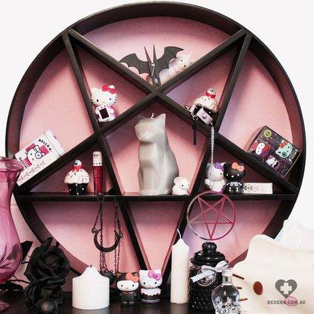 pentagram decor