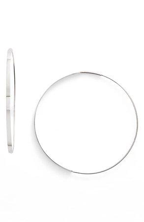 Lana Jewelry 'Flat Magic' Medium Hoop Earrings   Nordstrom