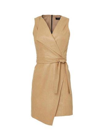 Dulce Wrap Mini Dress – BCBGMAXAZRIA