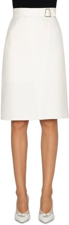 Double Face Pencil Skirt