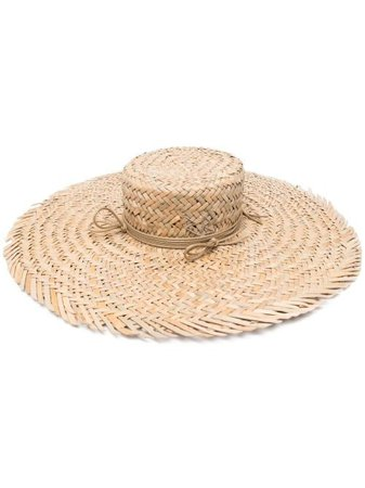 Ruslan Baginskiy Woven Straw Hat - Farfetch