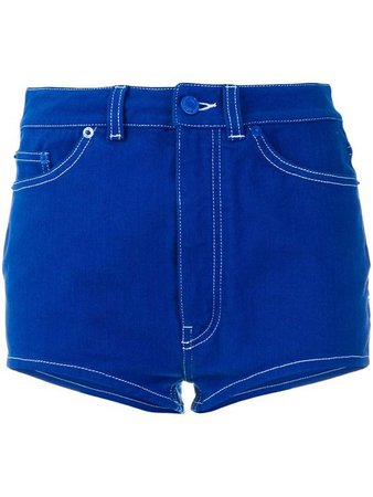 GIVENCHY Cornflower Blue Denim Shorts