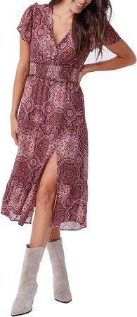 Holland Smocked Silk Dress