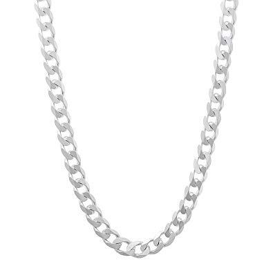 Silver Sterling Chain Necklace