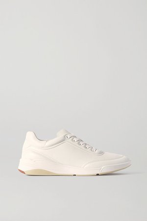 Play Leather Sneakers - White