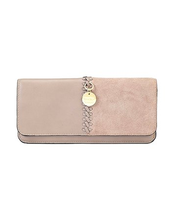 See By Chloé Tilda Long Wallet With Chain - Wallet - Women See By Chloé Wallets online on YOOX United States - 46719375LA