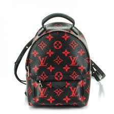 louis vuitton red and black backpack - Google Search