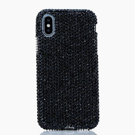 Black Crystal Phone Case