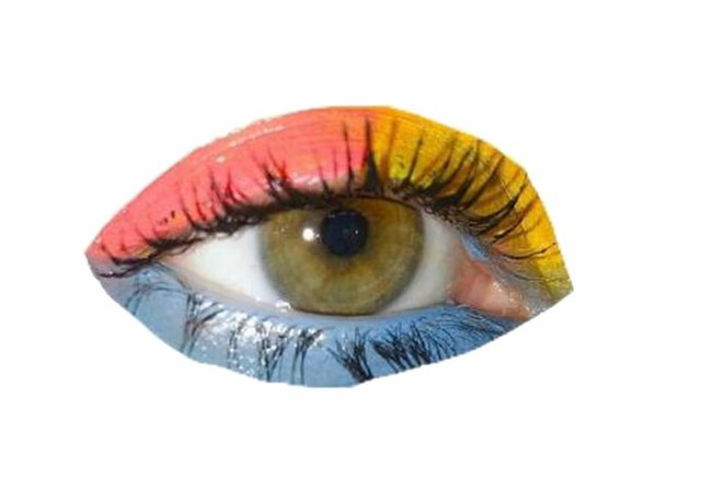 rainbow color eye eyeshadow