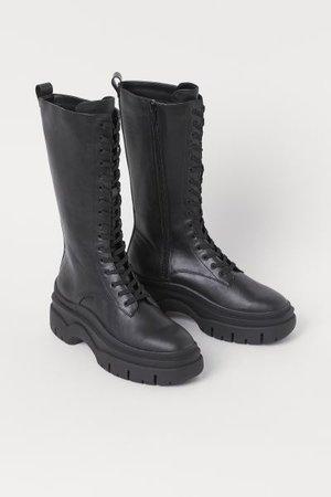 High Profile Boots - Black - Ladies | H&M US