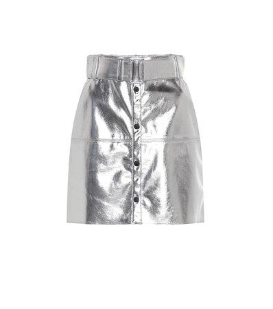 Metallic Miniskirt - MSGM   Mytheresa