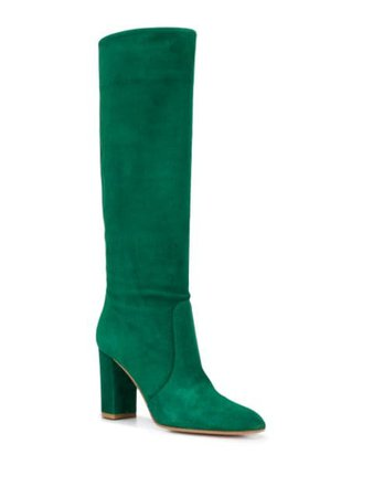 Gianvito Rossi knee-length Suede Boots - Farfetch