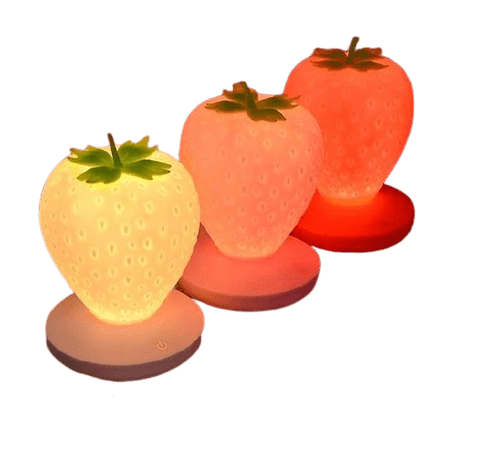 cottagecore strawberry lamps png