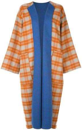 reversible cape-coat