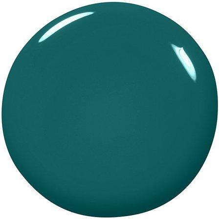 off tropic - lush dark green nail polish & nail color - essie