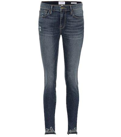 Jeanne Front Chew skinny jeans