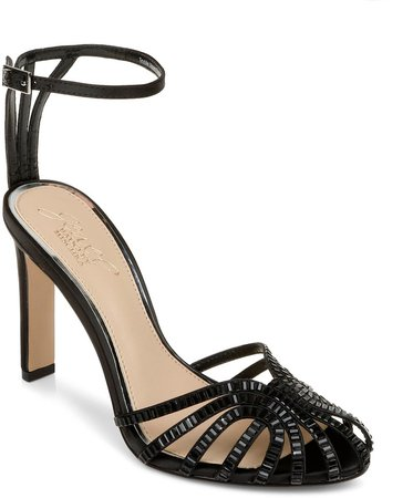 Polly Ankle Strap Pump