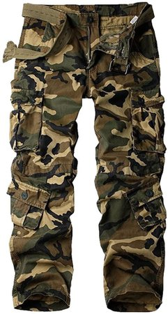 Amazon.com: Women's Tactical Pants, Casual Cargo Work Pants Military Army Combat Trousers 8 Pockets,Black Hawk camo,32(US 12): Clothing