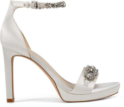 Nine West   Neil Lane Engaged Heeled Ankle Strap Sandals