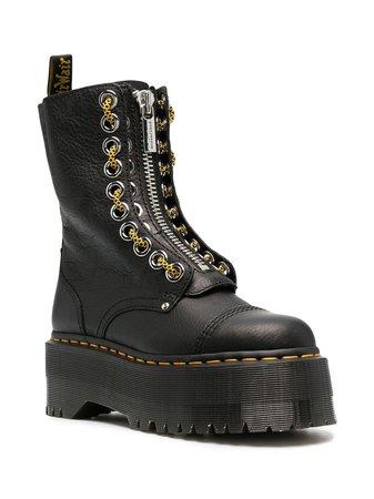 Shop black Dr. Martens Sinclair boots with Afterpay - Farfetch Australia