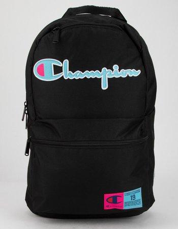 CHAMPION Supercize  Black Backpack