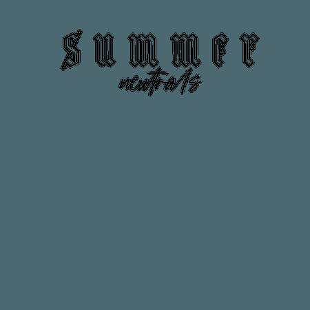SUMMER NEUTRALS by @pandatheodofficial