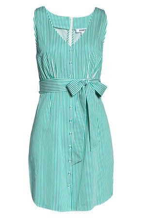BB Dakota Stripe Sleeveless Shirtdress | Nordstrom