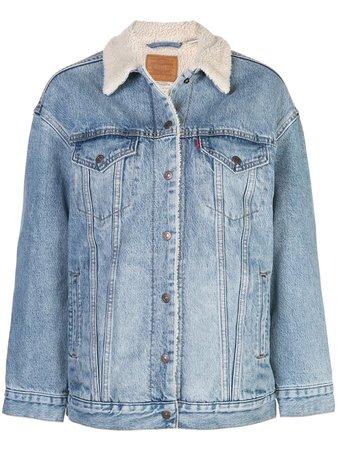Levi's Oversized Denim Jacket - Farfetch