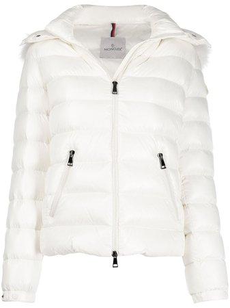 Moncler Fur Lined Puffer Jacket - Farfetch